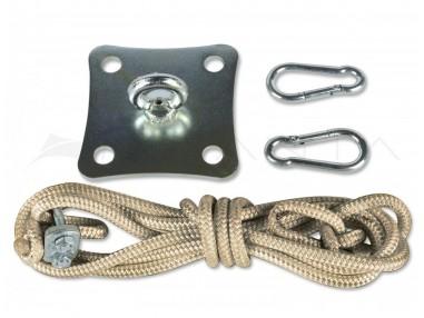 Kit ancoraggio su parete SimplE - Corda Nautica