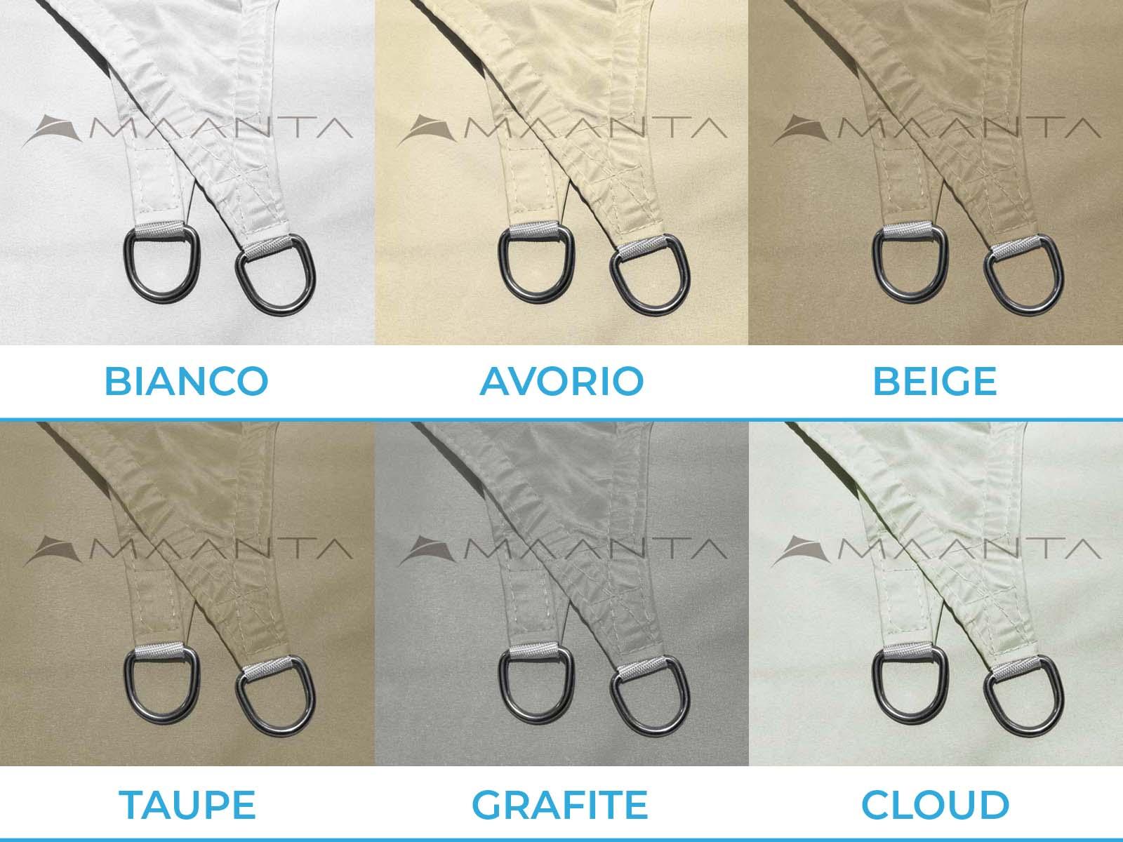 EasyShade V2 roestvrijstalen ringen
